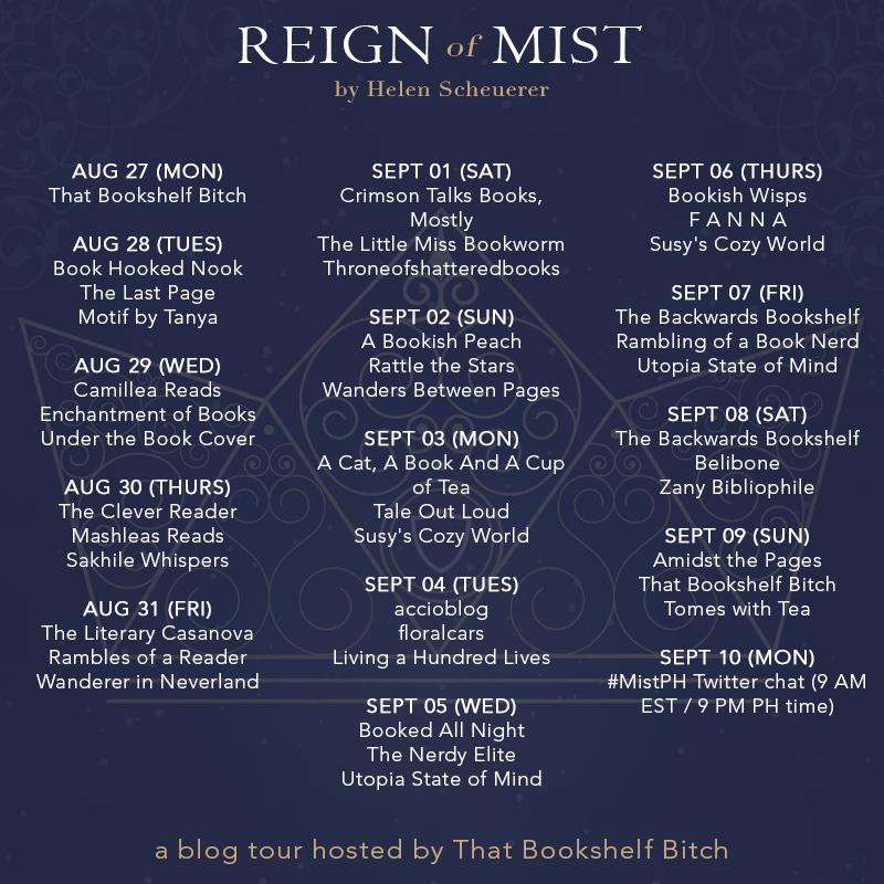 Tour Schedule (Reign of Mist)